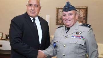 Борисов се срещна с председателя на Военния комитет на НАТО