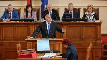 Бойко Борисов представи в НС приоритетите на кабинета
