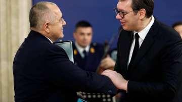 Вучич връчи на Борисов най-високия орден на Сърбия