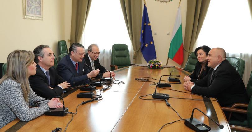 Борисов се срещна с директора на Международната организация по лозата и виното