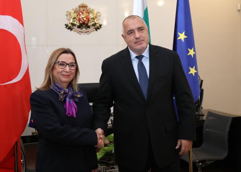 Среща на министър-председателя Бойко Борисов с министъра на търговията на