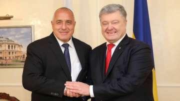 Премиерът Борисов се срещна с президента на Украйна Петро Порошенко