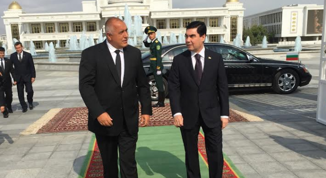 снимка 1 Бойко Борисов заминава на посещение в Туркменистан