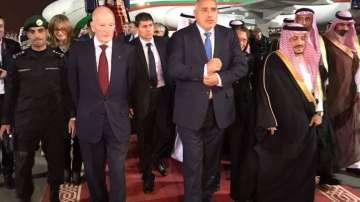 От нашите пратеници: Премиерът Борисов пристигна на посещение в Саудитска Арабия