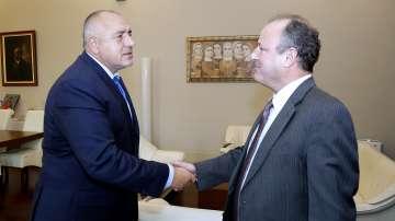 Бойко Борисов се срещна с американския посланик