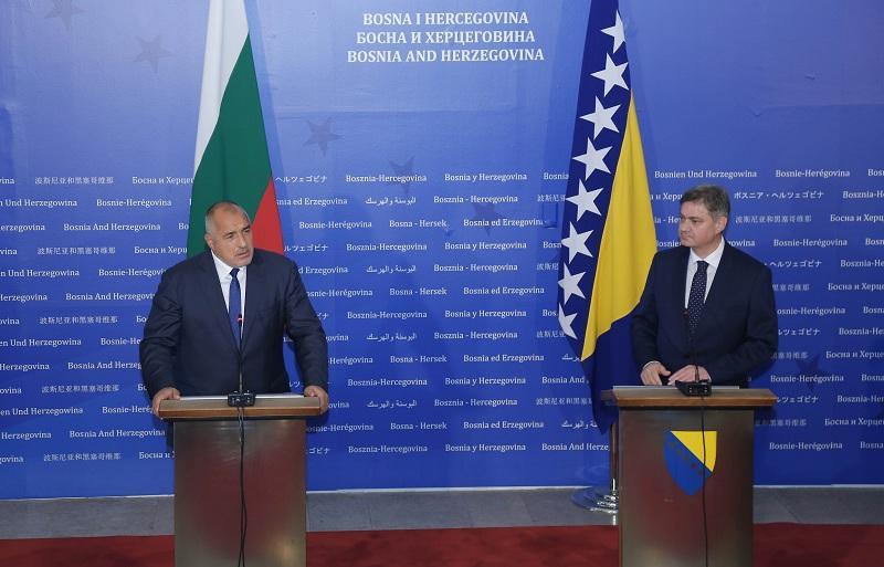 снимка 1 Бойко Борисов на официално посещение в Босна и Херциговина
