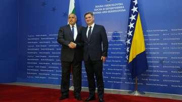 Бойко Борисов на официално посещение в Босна и Херциговина