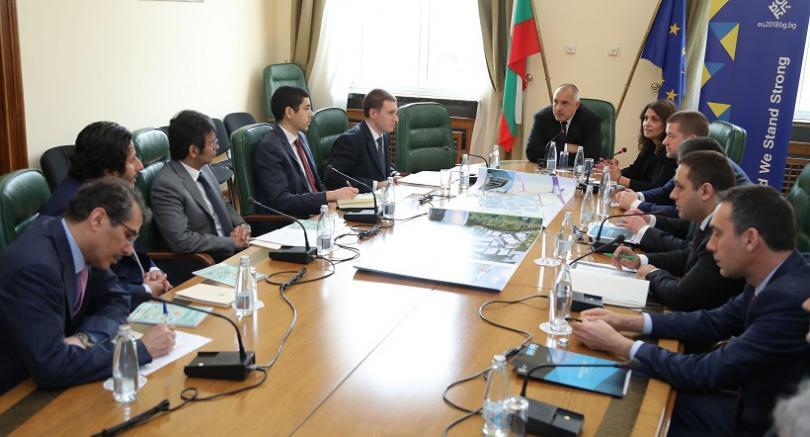 Срещата е продължение на разговора на българския премиер с емира