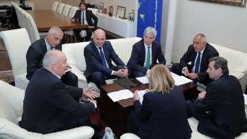 Борисов се срещна с президента на Европейската конфедерация на профсъюзите