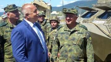 Борисов: Проектите за армията трябва да са ефикасни, евтини и съвместими с НАТО