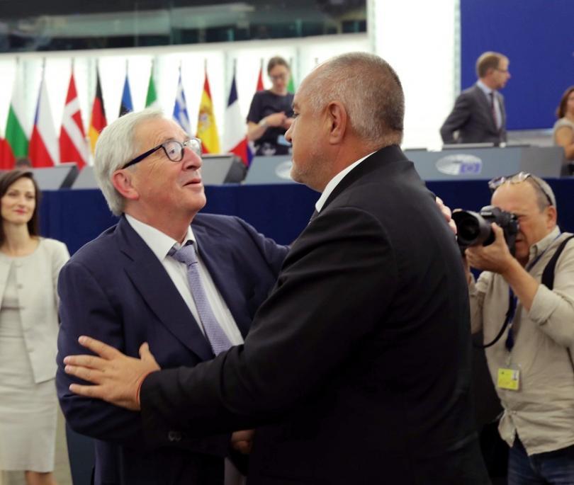 снимка 1 Борисов представи резултатите от Българското европредседателство в Страсбург