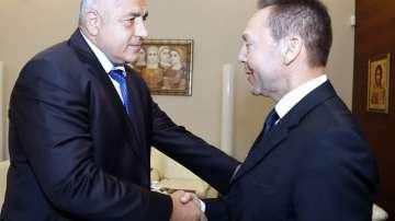 Борисов се срещна с управителя на Централната банка на Гърция