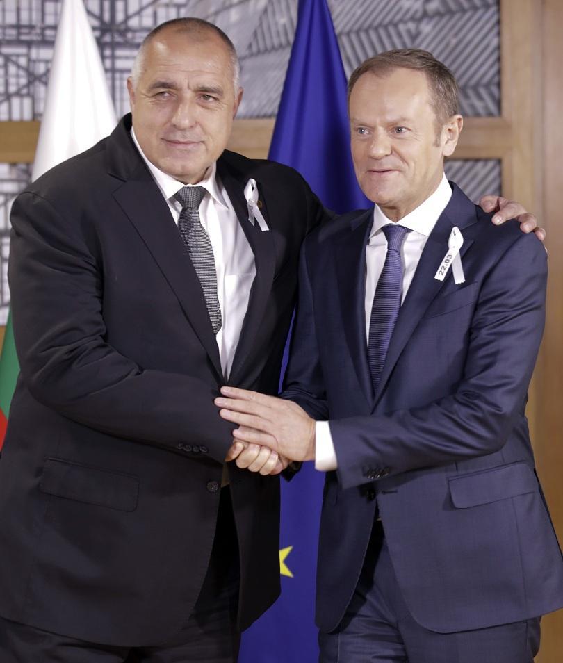 снимка 2 Борисов се срещна с Доналд Туск