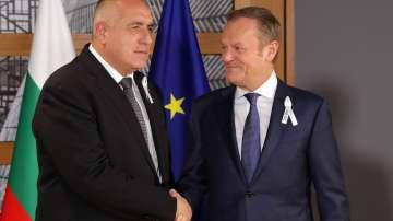Бойко Борисов пред Доналд Туск: Срещата ЕС - Турция във Варна е необходима
