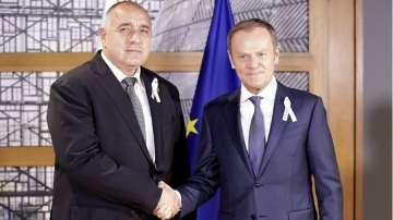 Борисов се срещна с Доналд Туск