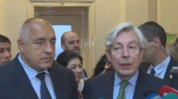 Борисов и Ван Орден обсъдиха ролята на България при председателството на ЕС
