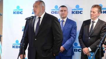 Борисов даде заявка, че ще се оттегли от политиката, когато е готова АМ Хемус
