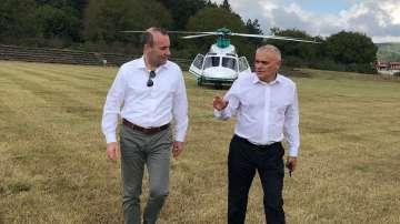 Вебер: България може да бъде модел за подражание за успешен граничен контрол