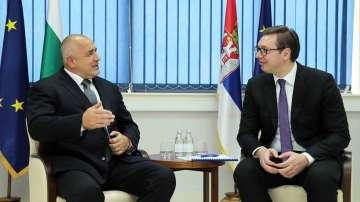 Бойко Борисов се срещна със сръбския президент Александър Вучич