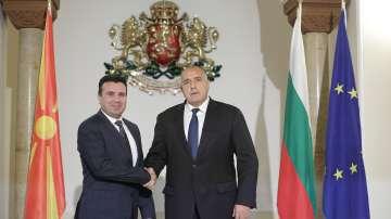 Бойко Борисов се срещна със Зоран Заев