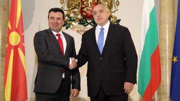 Премиерът Борисов разговаря в София с македонския си колега Зоран Заев