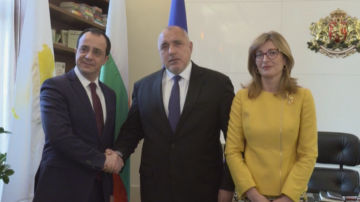 Борисов и Захариева обсъдиха енергийната сфера с външния министър на Кипър