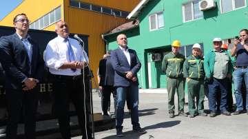 Премиерът Борисов откри ключов за маслодобива проект за над 3 млн. евро