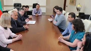 Бойко Борисов се срещна с Желяз Андреев