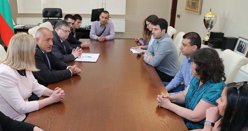 Среща на премиера Бойко Борисов с Желяз Андреев и другите
