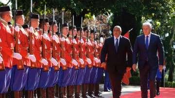 Премиерът Бойко Борисов е на официално посещение в Черна гора