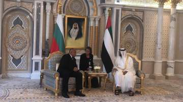 Премиерът Борисов се срещна с престолонаследника на емирство Абу Даби