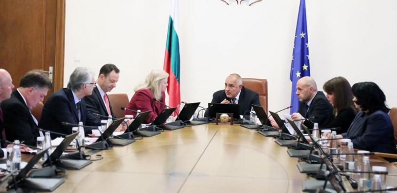 Премиерът Борисов се срещна с енергийни експерти от Държавния департамент