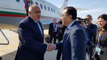 "Борисов пристигна на откриването на новата военноморска база ""Бернис"" в Египет"