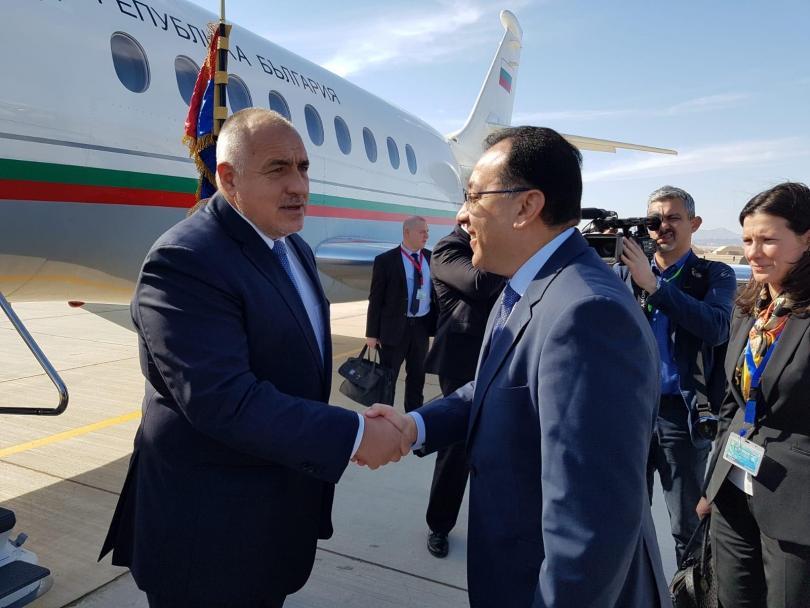 """Министър-председателят Бойко Борисов пристигна в новата военноморска база """"Бернис"""" на"""