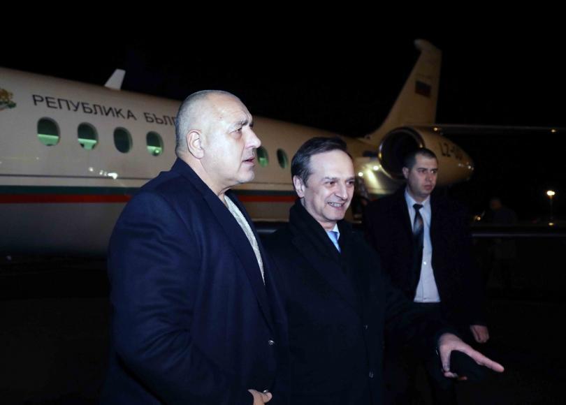 снимка 1 Бойко Борисов пристигна в Швейцария за участие в Световния икономически форум