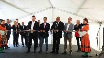 Борисов откри ново предприятие към автомобилния завод в Пазарджик