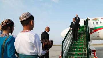 Премиерът Борисов пристигна на официално посещение в Туркменистан