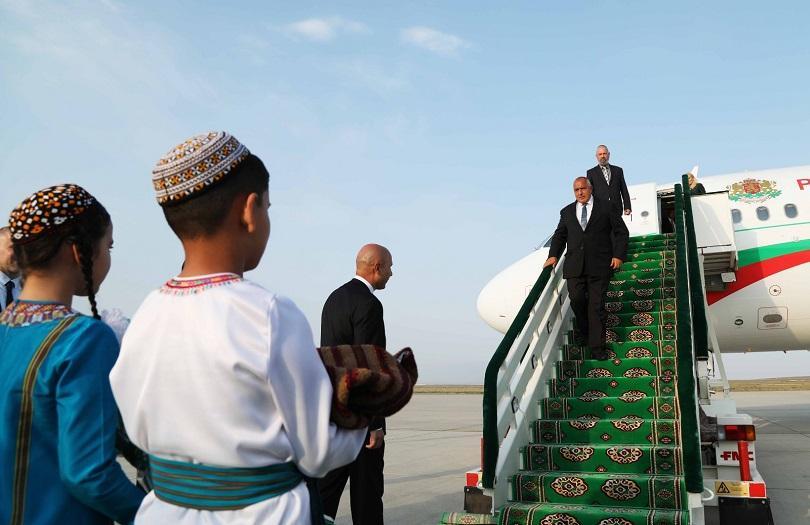 Премиерът Бойко Борисов е на тридневно официално посещение в Туркменистан.