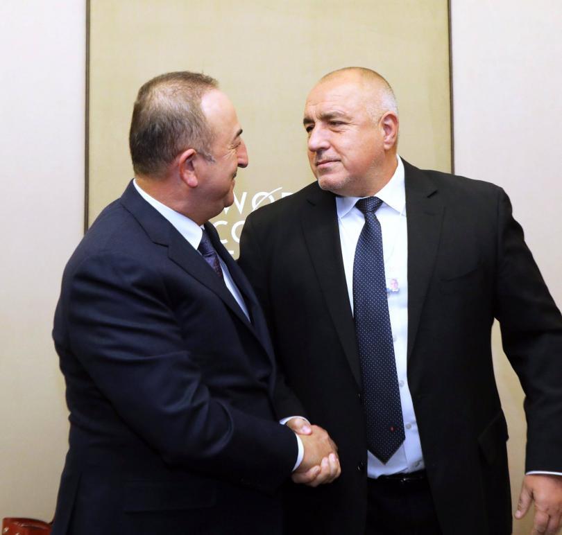 снимка 1 Премиерът разговаря с турския външен министър