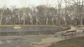 Предстои ремонт на езерото с лилиите в Борисова градина