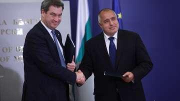 На срещата с баварския премиер: Борисов увери, че границите на ЕС се опазват