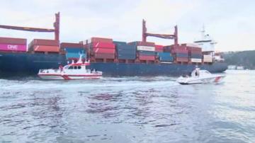 Сблъсък на товарен кораб затвори Босфора