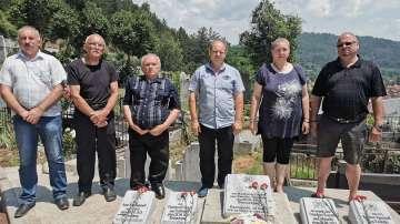 Почетоха паметта на убитите български офицери в Босилеград