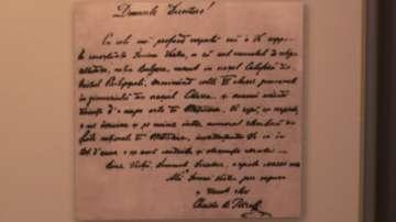 Прощалното писмо на Ботев до любимата му се пази в трезора на БНБ