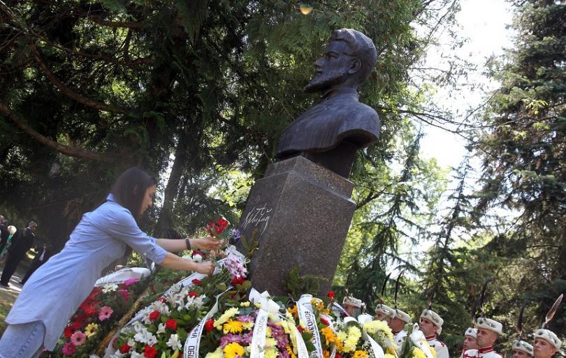 Паметникът на Ботев в Борисовата градина в София