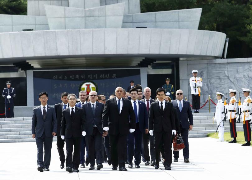България и Южна Корея продължават преговорите за стратегическо сътрудничество в