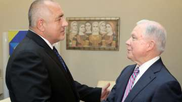 Бойко Борисов се срещна с министъра на правосъдието на САЩ Джеф Сешънс