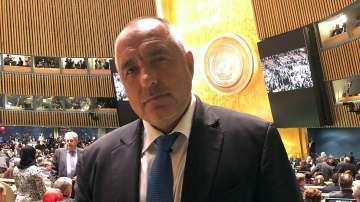 Коментари на Бойко Борисов след речта на Тръмп пред Общото събрание на ООН