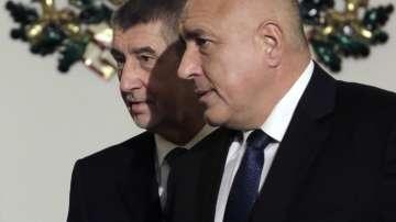 Премиерът Борисов се срещна с чешкия си колега Андрей Бабиш
