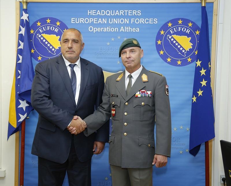 снимка 3 Премиерът Борисов пристигна на официално посещение в Босна и Херцеговина